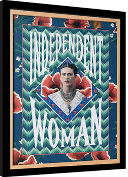 Frida Kahlo - Independent Woman Framed poster