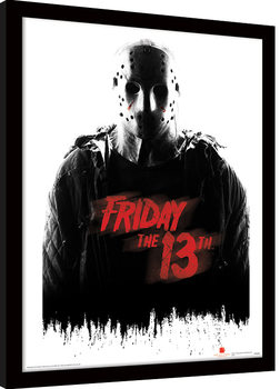 Framed poster Friday The 13th - Jason Voorhees