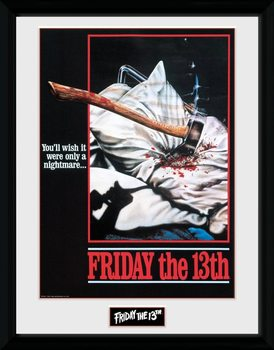 Friday The 13th - Nightmare Framed poster