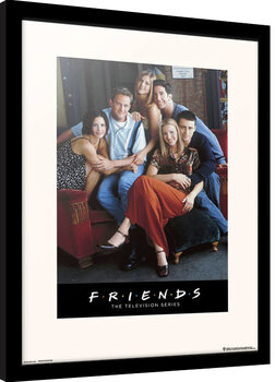Framed poster Friends - Characters