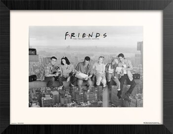 Framed poster Friends - Lunch On Skyscraper