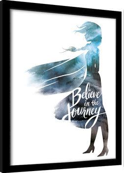 Framed poster Frozen 2 - Believe In The Journey