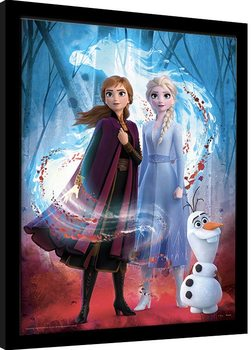 Frozen 2 - Guiding Spirit Framed poster