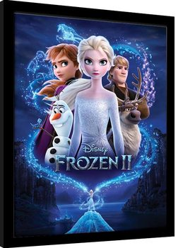 Framed poster Frozen 2 - Magic