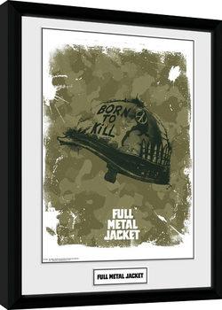 Full Metal Jacket - Helmet Framed poster
