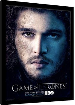 GAME OF THRONES 3 - jon Framed poster