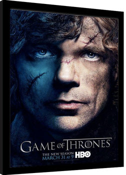 GAME OF THRONES 3 - tyrion Framed poster
