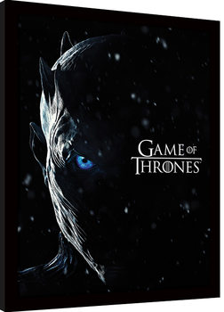 Game Of Thrones - The Night King Framed poster