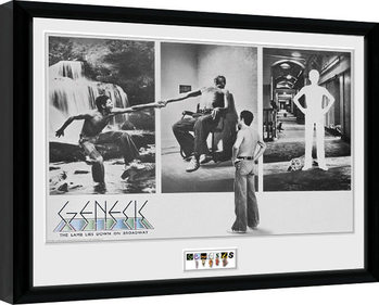 Genesis - The Lamb Lies Down V2 Framed poster