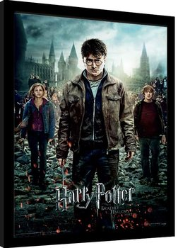 Harry Potter - Deathly Hallows Part 2 Framed poster