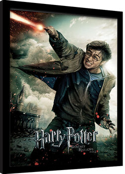 Framed poster Harry Potter: Deathly Hallows Part 2 - Wand