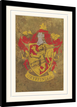 Framed poster Harry Potter - Gryffindor Crest