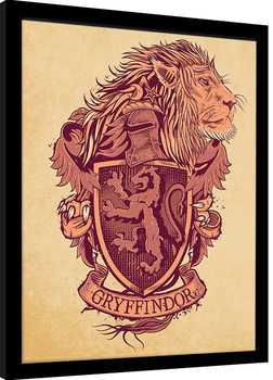 Harry Potter - Gryffindor Framed poster