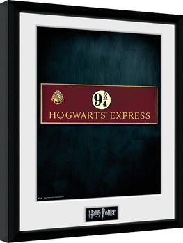 Harry Potter - Platform 9 3/4 Framed poster