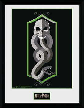 Harry Potter - Skull Framed poster