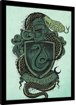 Harry Potter - Slytherin Framed poster