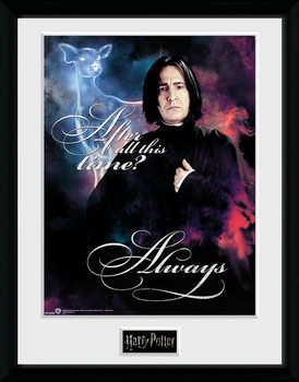 Harry Potter - Snape Always Framed poster