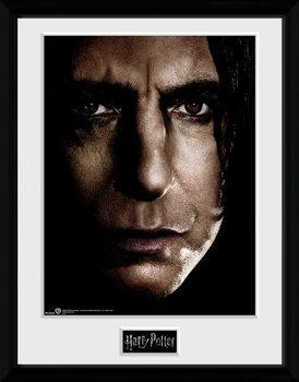 Harry Potter - Snape Face Framed poster
