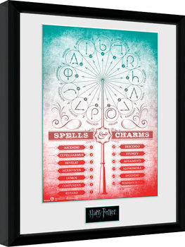 Harry Potter - Spells and Charms Framed poster