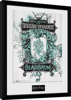 Harry Potter - Triwizard Beaux Batons Framed poster