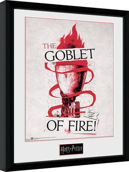 Harry Potter - Triwizard Goblet of Fire Framed poster
