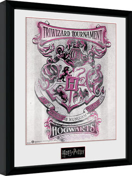 Harry Potter - Triwizard Hogwarts Framed poster
