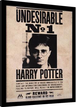 Framed poster Harry Potter - Undesirable N.1