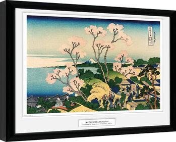 Hokusai - Goten Yama Hill Framed poster