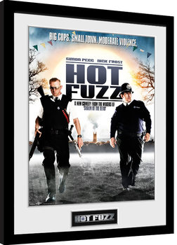 Hot Fuzz - One Sheet Framed poster