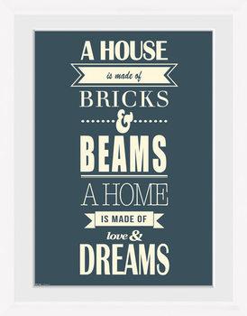 House - Of Dreams Framed poster