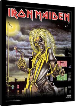 Framed poster Iron Maiden - Killers