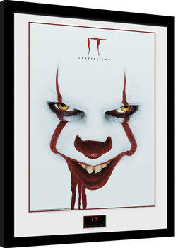 It: Chapter 2 - Face Framed poster