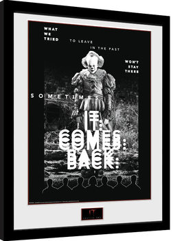 Framed poster IT: Chapter 2 - It Comes Back