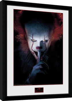 IT - Finger Framed poster