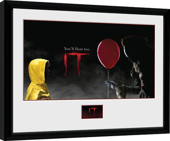 IT - Float Framed poster