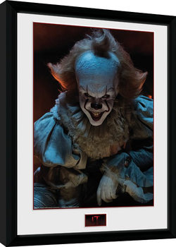 IT - Smile Framed poster