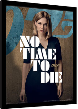 Framed poster James Bond: No Time To Die - Madeleine Stance