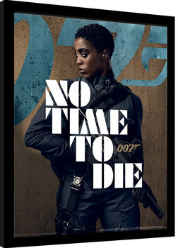 Framed poster James Bond: No Time To Die - Nomi Stance
