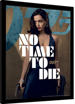 Framed poster James Bond: No Time To Die - Paloma Stance
