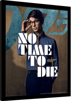 Framed poster James Bond: No Time To Die - Q Stance