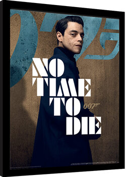 Framed poster James Bond: No Time To Die - Saffin Stance