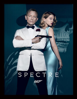 Framed poster James Bond: Spectre - One Sheet