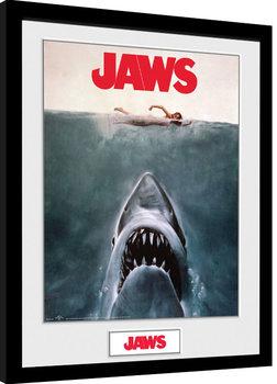 Jaws - Key Art Framed poster