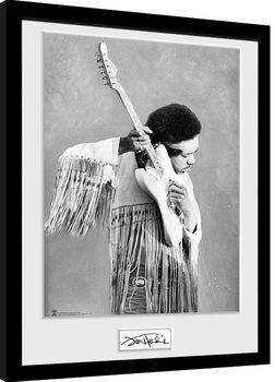 Jimi Hendrix - Pose Framed poster