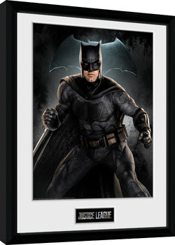 Justice League Movie - Batman Solo Framed poster