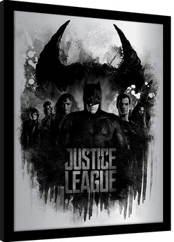 Framed poster Justice League Movie - Dark Horizon