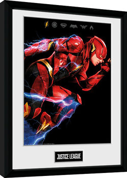 Justice League - Movie Flash Framed poster