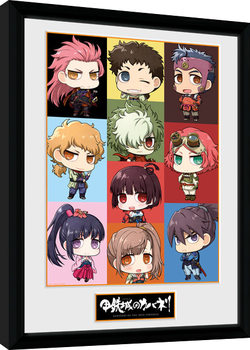 Framed poster Kabaneri of the Iron Fortress - Chibi