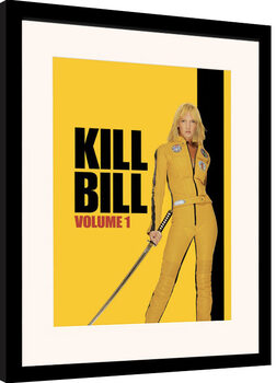 Framed poster Kill Bill - Vol. 1