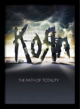 KORN - the path of totality Framed poster